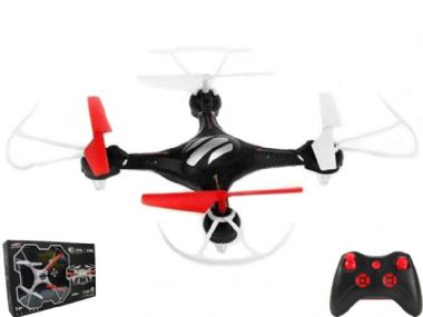 S48 Quadcopter | Radio Controlled Mini Drone Flying Gadget RC Toy | MODEL SHOP UK